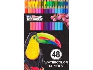 Bộ màu chì U.S. Art Supply 48 Piece