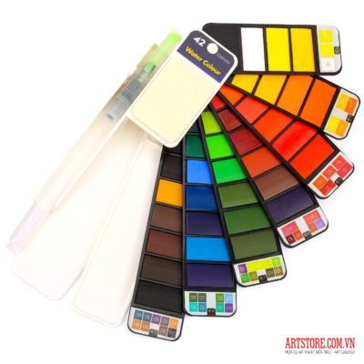 Bộ màu nước Superior 42 colors