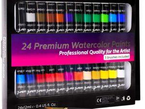 Bộ màu nước VisuartPRO 24pcs