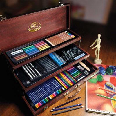 Bộ vẽ đa năng Royal & Langnickel+Deluxe 134pcs(order)