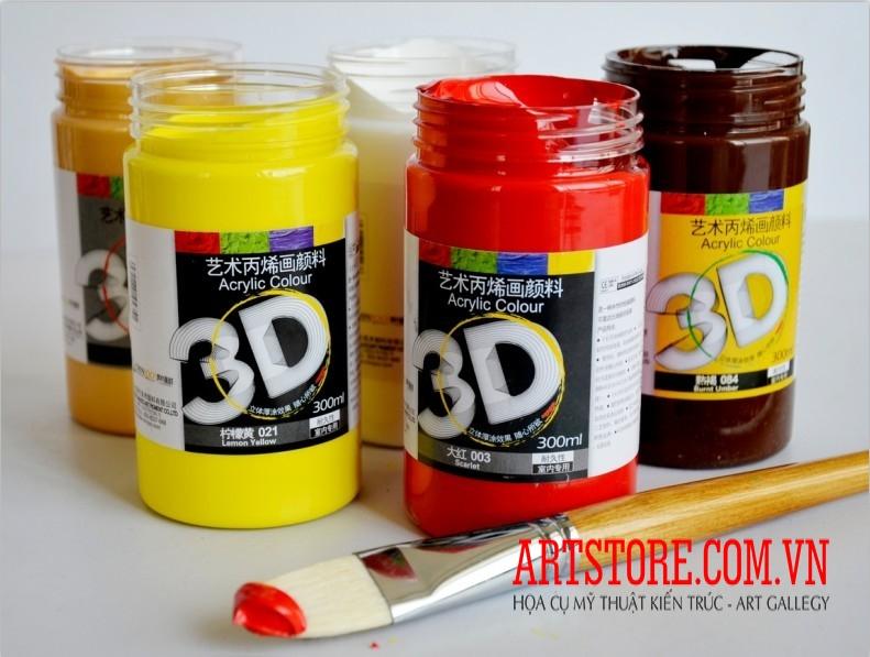Màu Acrylic nhũ loại 300ml