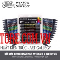 BỘ PROMARKER WINSOR 12 CÂY – WINSOR & NEWTON PROMARKER SET 12