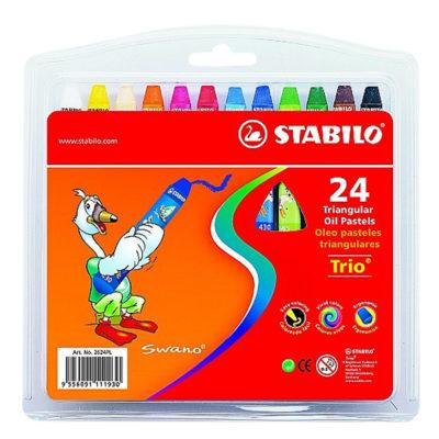 [TK]Bộ Bút Sáp Dầu Stabilo Trio OP2624