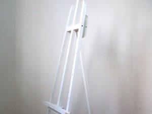 Giá vẽ khung gỗ trắng 1m2