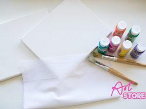 Khung tranh vải bố vẽ sơn dầu 30×40